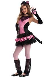 kitty halloween costumes for girls