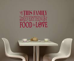 decorative vinyl wall decals the home redesign image of family share everything food love kitchen vinyl wall sticker decals pertaining to vinyl