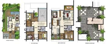 villa plan villa plan modern house
