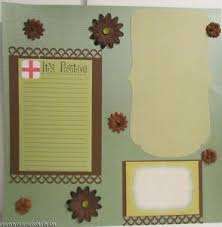 scrapbook albums 12x12 12x12 pregnancy scrapbook album premade 20 pages ebay