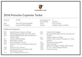 porsche cayenne change price 2016 porsche cayenne turbo stock a88808 for sale near edgewater