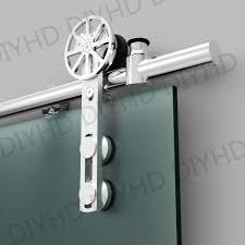 Barn Door Style Sliding Doors by Online Buy Wholesale Glass Barn Door From China Glass Barn Door