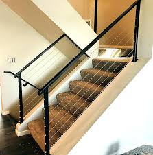 interior railings home depot cable stair railing home depot interior railings kit systems