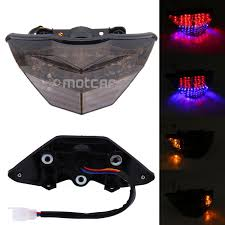 ninja 300 integrated tail light new motorcycle led smoked lens integrated led rear tail light tail