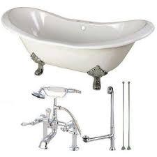 Bathtubs Home Depot Cast Iron Porcelain Enameled Cast Iron Freestanding Bathtubs Bathtubs