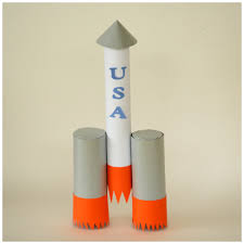 earth day paper towel tube rocket ship craft craft ideas for the