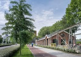 entrepot de produit de bureau bedaux de brouwer transforme l entrepôt ferroviaire hollandais en