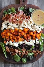 leftover turkey harvest cobb salad skinnytaste