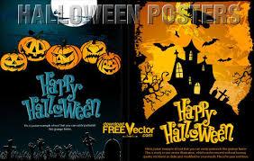 Vector Halloween Poster Template 123freevectors