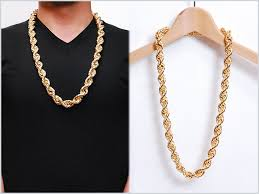 gold chain necklace woman images Solt and pepper rakuten global market it is 80 39 s run dmc in the jpg