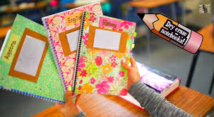 10 Super Fun Ways to DIY & Decorate Your Notebooks for the First