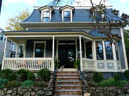 blue roof exterior house paint color photos painting services