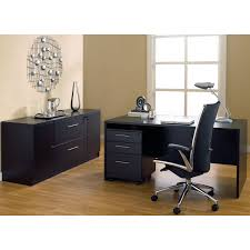 unique furniture managers desk and credenza with optional chair