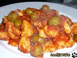 cuisiner des filets de poulet filets de poulet sauce aux olives recette ptitchef