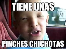 Pinches Memes - tiene unas pinches chichotas jesusalejandro quickmeme