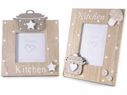 cornice legno da decorare set 2 cornici portafoto legno da appoggiare c decoro kitchen