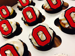 ohio state cupcakes osu grad party pinterest ohio ohio