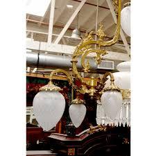 Victorian Chandelier For Sale Beautiful American Victorian Chandelier With Crystal Prisms For