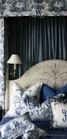 with blue french toile bedding z bedroom guest room pinterest