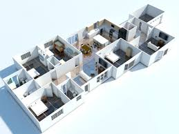 Home Interior Design Software Online Architecture Apartments Decoration Lanscaping 3d Floor Plan
