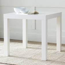 white square kitchen table white square dining table parsons west elm contemporary inside 19