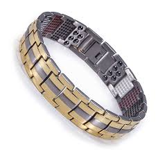 bracelet with magnetic images Titanium magnetic power bracelet new tech 4 in 1 energy magnets jpg