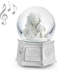 snag this sale 40 mothers embrace musical snow globe