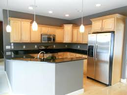 Unfinished Maple Kitchen Cabinets Cute Maple Kitchen Cabinets Contemporary In Brown With White