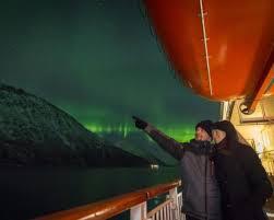 scandinavian cruise northern lights northern lights trip aurora ligths norway short cruise northern
