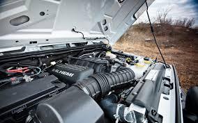 aev jeep hood driven aev brute double cab automobile magazine
