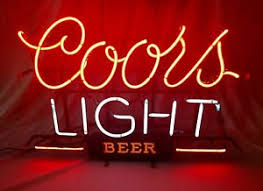 coors light bar sign vintage authentic coors light neon sign works neon bar beer sign ebay