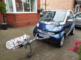 smart fortwo 0 7 city grandstyle 3dr 2006 with towing frame