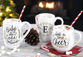 holiday mugs from lily u0026 val ilovetocreate