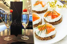 canapé hton fly bottle of prosecco and canapés for 2 the liverpool