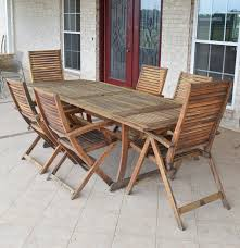 Patio Dining Set by Teak Patio Dining Set By Jutlandia Ebth