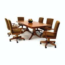 dining chairs castered dining set 100 dining room sets with