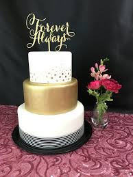 anniversary cake toppers gold cake topper forever always wedding cake topper