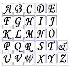 letter templates ebay