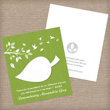 seed cards nature s leaf memorial seed cards memorial cards catalog