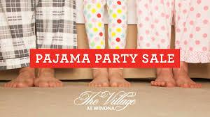 the at winona pajama sale kosciusko county northern