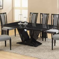 marble dining room table and chairs marble dining table inseltage info within black ideas 12 themodjo com