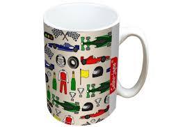 jayne motor racing limited edition designer mug and coaster gift set