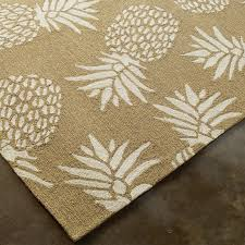 Outdoor Pineapple Lights Spunky Pineapple Indoor Outdoor Rug Shades Of Light