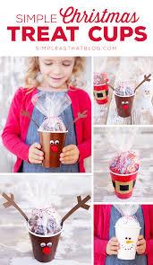 simple christmas treat cups classroom treats simple christmas