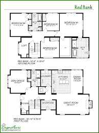 two floor plans two signature building systems custom modular home