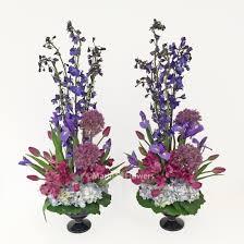 marinasflowers purple vase arrangements