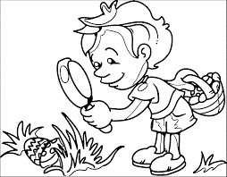 5 senses coloring pages wecoloringpage