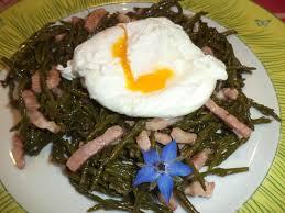 salicorne cuisine salade de salicornes le de chantal76
