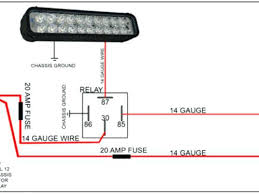 wiring diagram lights for optronics led tail light bar harness