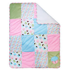 Cupcake Crib Bedding Set Trend Lab Cupcake 3 Crib Bedding Set